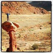 Rock Climbing Photo: Trevor on the snake