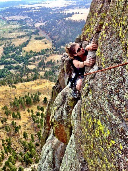 Rock Climbing Photo: Jump Traverse