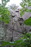 Rock Climbing Photo: Rich Bechler Memorial Route. 5.10a/b found at the ...