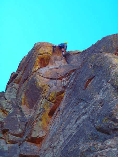 Rock Climbing Photo: Crab Legs climbing