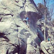 Rock Climbing Photo: M Robinson on POW