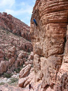 Rock Climbing Photo: Turkey Trot (10c)