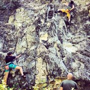 Rock Climbing Photo: Taken during Rifle Climbers' Festival, 2013.