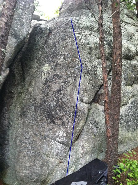 Rock Climbing Photo: false tooth