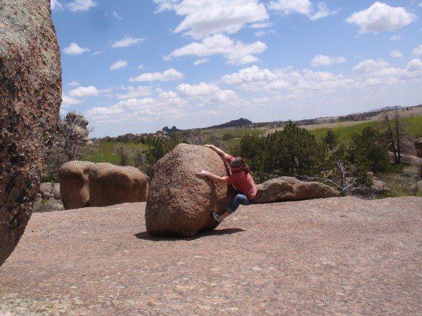 pebble wrestling