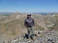 Rock Climbing Photo: On Truro Peak.