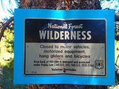 Rock Climbing Photo: No motorized devices allowed - drill  by hand plea...