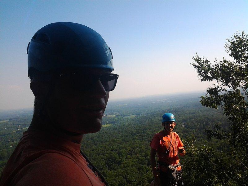 Rock Climbing Photo: 105 and cruising