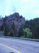 Rock Climbing Photo: this is off highway 96 in coloado