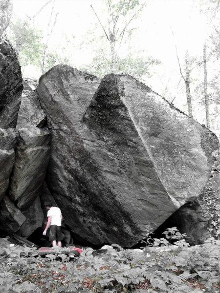 Rock Climbing Photo: Brave Cave