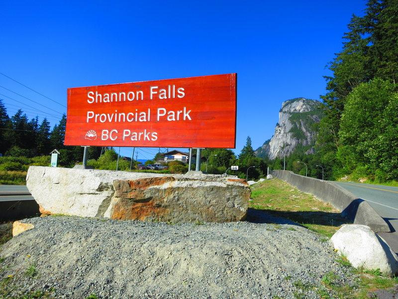 Rock Climbing Photo: Shannon Falls Provincial Park
