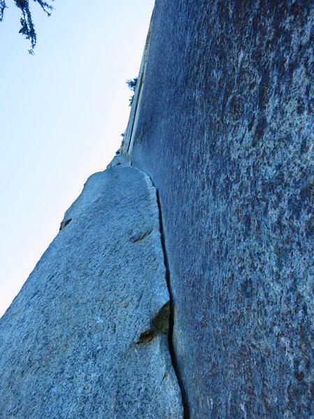 Rock Climbing Photo: Split Pillar, the Grand Wall