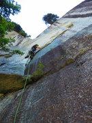 Rock Climbing Photo: Nathan Wiley on the Sail Flake, the Grand Wall