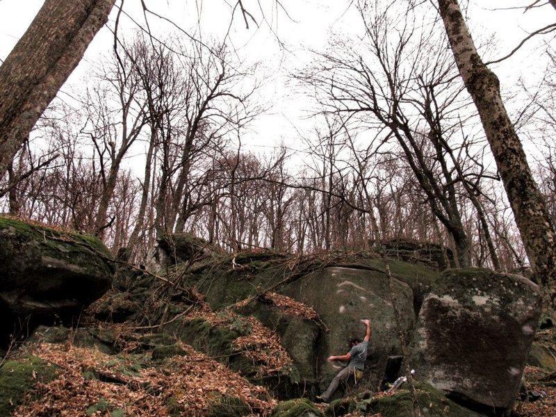 "Rock Climbing Photo: Steve on ""Luciferin"""