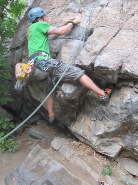 Rock Climbing Photo: Start to Turkey Jerky - Canal Wall