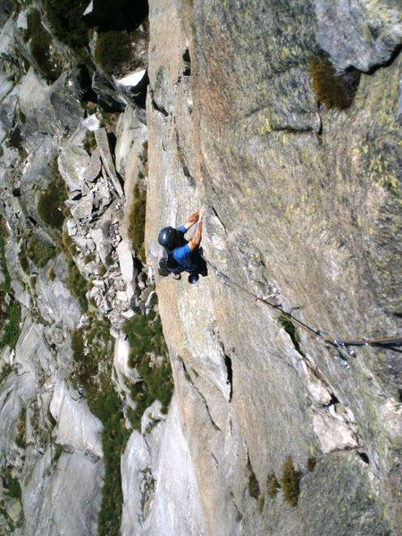 Rock Climbing Photo: Pitch five (6b), Zeichen der Freundschaft