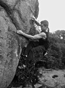 Rock Climbing Photo: Climbing Black Beard V6