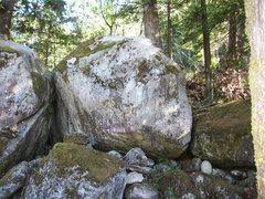 Rock Climbing Photo: 3rd boulder at river.