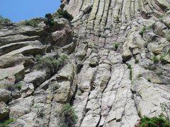 Rock Climbing Photo: Durrance approach