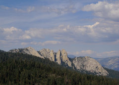Rock Climbing Photo: The top of Dome Rock affords one of the Upper Kern...
