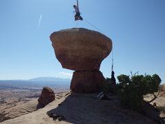 Rock Climbing Photo: yeee-haaaaa