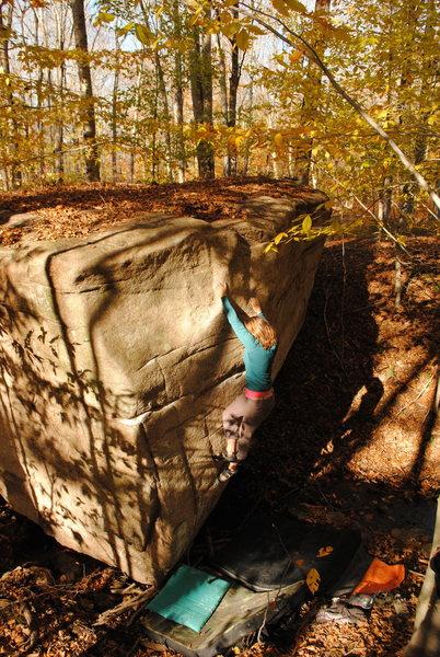 Rock Climbing Photo: Halley