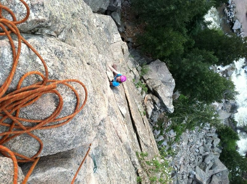 Rock Climbing Photo: Cobb