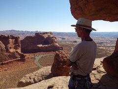 Rock Climbing Photo: view to parking lot