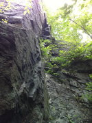 Rock Climbing Photo: More stuff to do over around the corner.