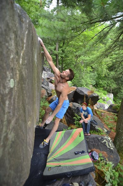 Rock Climbing Photo: Nic on Ballistic.