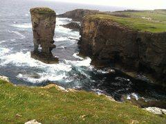 Rock Climbing Photo: Yesnaby Castle