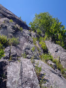 Rock Climbing Photo: Pitch 3 from the P2 belay