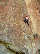 Rock Climbing Photo: Mycroft Smith post (mental) crux on this great rou...