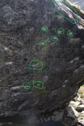 Rock Climbing Photo: Rock Biter Beta.