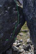Rock Climbing Photo: The Nothing Beta Photo.