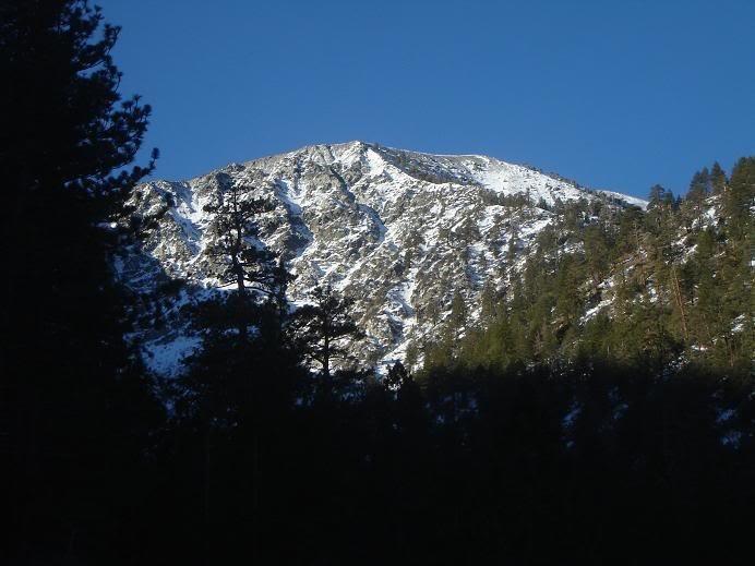 NE Ridge from down below