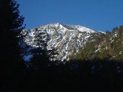 Rock Climbing Photo: NE Ridge from down below