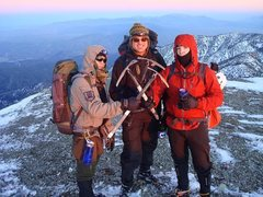 Rock Climbing Photo: My good chumlies Bert, Fritz, and Dustin after the...