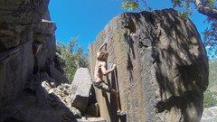 Rock Climbing Photo: Jake Johnson getting it done!
