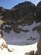 Rock Climbing Photo: Mt. Cowan and the pot hole lake below. The standar...