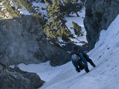 Rock Climbing Photo: First time up