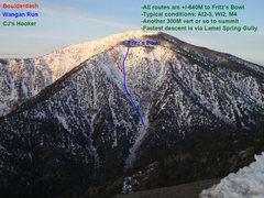 Rock Climbing Photo: Bit o' topo