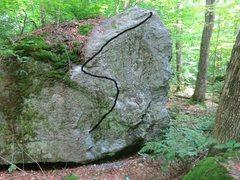 Rock Climbing Photo: katter kampestein