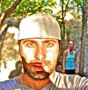 Rock Climbing Photo: self portrait