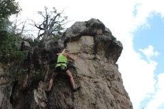 Rock Climbing Photo:  Scrubs 5.9