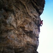Rock Climbing Photo: Cooks Wall, Theater of Pain 13b