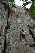 Rock Climbing Photo: super fun slab route