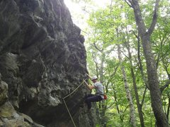 Rock Climbing Photo: Jugline 5.10b