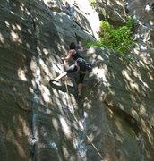 Rock Climbing Photo: Rehanah on Thai Stick.  Photo courtesy of Chris K.