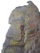 Rock Climbing Photo: Scott on FA.